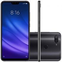 Smartphone Xiaomi MI 8 Lite 64GB Versão Global Desbloqueado Preto -