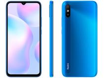 "Smartphone Xiaomi Redmi 9A 32GB Azul 4G Octa-Core  - 2GB 6,53"" Câm. 13MP + Selfie 5MP Dual Chip"
