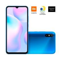 "Smartphone xiaomi redmi 9a tela 6,53"" 2gb/32gb 4g, azul -"