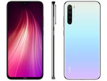 "Smartphone Xiaomi Redmi Note 8 128GB Branco - Moonlight White 4GB RAM 6,3"" Câm. Quádrupla"