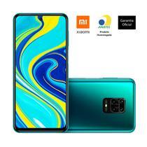 "Smartphone xiaomi redmi note 9s tela 6,67"" 4gb/64gb 4g, azul -"