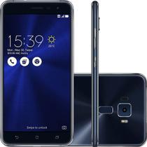 Smartphone zenfone 3 ze552kl 64gb 4gb ram tela 5.5 preto - Asus