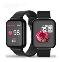 Smartwatch B57 Relógio Inteligente Fitness Corrida Saúde -