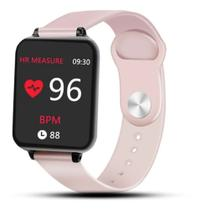 Smartwatch B57 Relógio Inteligente Hero Band 3 Fitness Rosa -