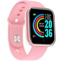 Smartwatch  D20 relógio inteligente  monitor saúde bluetooth -