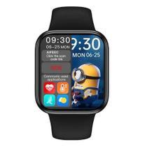 Smartwatch Hw16 44mm Relogio Compativel Android Ios 2021- Preto -