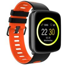 Smartwatch Monitor Cardíaco Q-touch Bluetooth QSW12