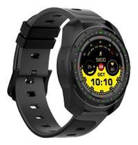 Smartwatch Monitor Cardíaco Q-Touch Bluetooth QSW13 Preto -