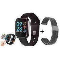 Smartwatch P80 Touch Screen Preto Original - Sport Bracelet -