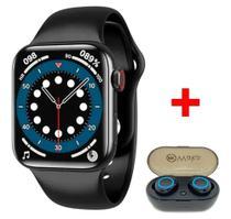 Smartwatch Plus Ivo13 plus  Com Fone Bluetooth Termômetro e Pressão  - Waka