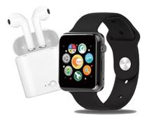 Smartwatch Relogio Feminino A1 Atende Faz Chamadas Msg Whats Câmera + Fone S/Fio - 01Smart