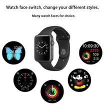 Smartwatch Relógio Inteligente iwo 5 Bluetooth iphone Ios Android Motorola
