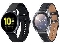 Smartwatch Samsung Galaxy Watch 3 LTE Prata - 41mm 8GB + Smartwatch Galaxy Watch Active2