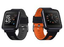 Smartwatch SW2 Bluetooth Tela 1,54 Pol. Touchscreen Compativel com Android e iOs   2 Pulseiras Multi - Multilaser