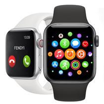 Smartwatch W26 Lite Preto Troca Pulseira Faz Ligação Tela Infinita - P80