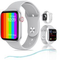Smartwatch W26 Lite Troca Pulseira Faz Ligação Tela Infinita Branco -