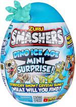 Smashers Ovo Dino Ice Age Mini Surprise FUN Azul Claro -