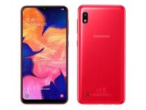 Smatphone Samsung Galaxy A10 - 4G, 32GB, Octa Core, Dual SIM, 13MP e 5MP - Vermelho - SMA105MZRKZTO -