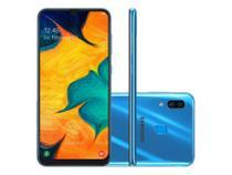 "Smatphone Samsung Galaxy A30  4G, 64GB, Dual SIM, Dual Camera, Tela 6,4"" - Azul - SMA305GZKBZTO -"