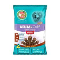 Snack Bassar Dental Care para Cães de Raças Grandes 20 Unidades -