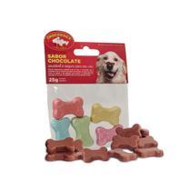 Snack Chocodog para Cães Adultos e Filhotes Ossinho - 50g - Chocodog'S