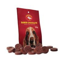 Snack Chocodog para Cães Adultos e Filhotes Pastilha - 50g - Chocodog'S
