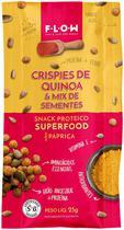Snack Crispies de Quinoa e Sementes com Páprica Flow 25g - Flow Foods