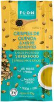 Snack Crispies de Quinoa e Sementes com Spirulina e Ervas Flow 25g - Flow Foods