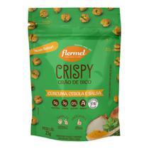 Snack Crispy De Grão De Bico Curcuma Cebola E Salsa Flormel 25g -