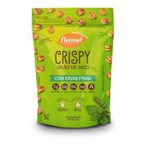 Snack Crispy de Grão de Bico Flormel Ervas Finas Vegano 30g -