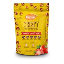 Snack Crispy de Grão de Bico Flormel Tomate E Oregano Vegano 30g -