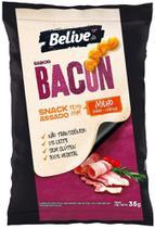 Snack de Milho sabor Bacon Sem glúten Sem lactose BeLive 35g -