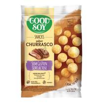 Snack de Soja Churrasco Sem Glúten Good Soy 25g -