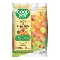 Snack De Soja Legumes Ao Queijo Sem Glúten Good Soy 25g -