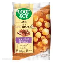 Snack de Soja Sabor Churrasco Goodsoy 25g - Good Soy