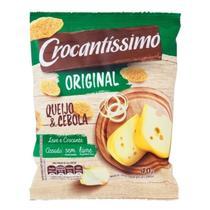 Snack de trigo sabor queijo & cebola 40g crocantíssimo - Crocantissimo