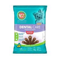 Snack Dental Care Bassar para Cães de porte Pequeno e Médio 110g -