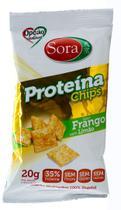 Snack Multigrãos de Proteina de Soja sabor Frango com Limão 20g - Sora -