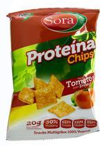 Snack Multigrãos de Soja sabor Tomate com Ervas 20g - Sora -