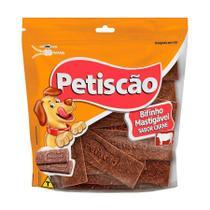 Snack Petisquinho Para Cães Bifinho Sabor Carne - 250g - Petiscão