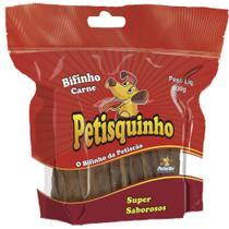 Snack Petisquinho Para Cães Bifinho Sabor Carne - 500g - Petiscão