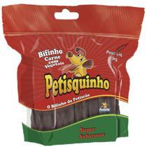 Snack Petisquinho Para Cães Bifinho Sabor Vegetais - 1kg - Petiscão