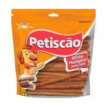 Snack Petisquinho Para Cães Palito Fino Sabor Carne - 500g - Petiscão
