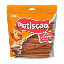 Snack Petisquinho Para Cães Palito Fino Sabor Frango - 250g - Petiscão