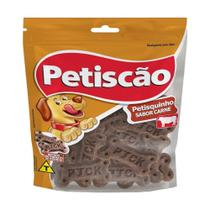 Snack Petisquito para Cães sabor Carne 65g - Petiscão -