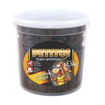 Snack Petitos Bifinho de Frango para Cães 2,5kg -