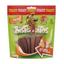 Snack Petitos Bistequitos para Cães Sabor Frango 400g -
