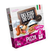 Snack Petitos Delícias de Chef para Cães Sabor Pizza de Calabresa 40g -