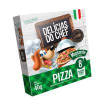 Snack Petitos Delícias de Chef para Cães Sabor Pizza de Mussarela 40g -