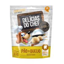 Snack Petitos Delícias do Chef para Cães Sabor Pão de Queijo 65g -